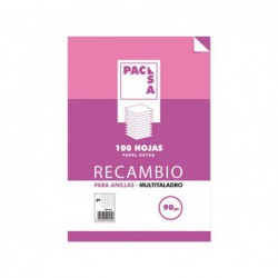 RECAMBIO PACSA 100h A4...