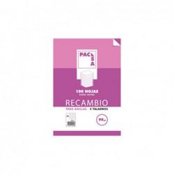 RECAMBIO PACSA 100h A4 3x3...