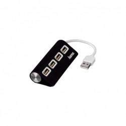 HUB 4 PUERTOS HAMA USB 2.0