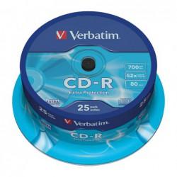 BOBINA 25 CD-R VERBATIM 52X...