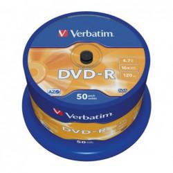 BOBINA 50 DVD-R VERBATIM...