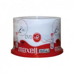 BOBINA 50U DVD-R MAXELL...
