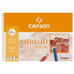 BLOC 20h CANSON DE DIBUJO...