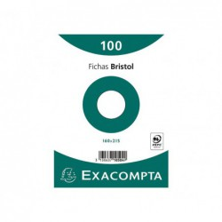 PACK 100 FICHAS EXACOMPTA...
