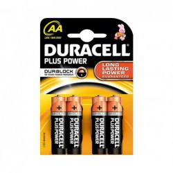 PACK 4 PILAS DURACELL...