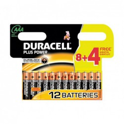 PACK 12 PILAS DURACELL...