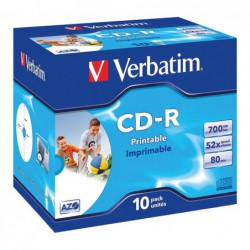 PACK 10 CD-R VERBATIM 52X...