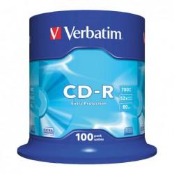 BOBINA 100 CD-R VERBATIM...