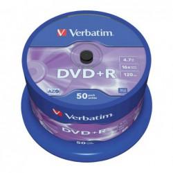 BOBINA 50 DVD+R VERBATIM...