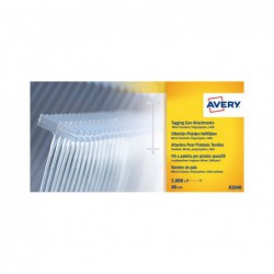 PACK 5000 NAVETES AVERY 40mm