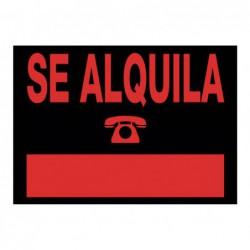 """CARTEL ANUNCIO """"SE ALQUILA"""""""