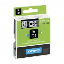 CINTA ROTULAR DYMO D1 9mm