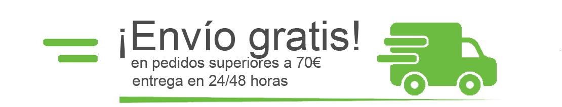 Tienda online de suministros para oficina con envío gratis para pedidos superiores a 70€ + IVA